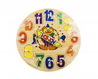 Деревянная игрушка Часы Руди Р02у