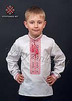 Детская вышиванка на мальчика, арт. 0103