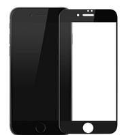 Защитное стекло для iPhone 6 Plus/6S Plus, 0.25 mm, 3D на весь дисплей, черное, Full Glue