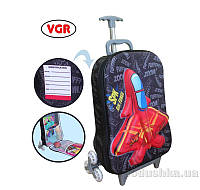 Чемоданчик дорожный Самолеты VGR фиолетовый