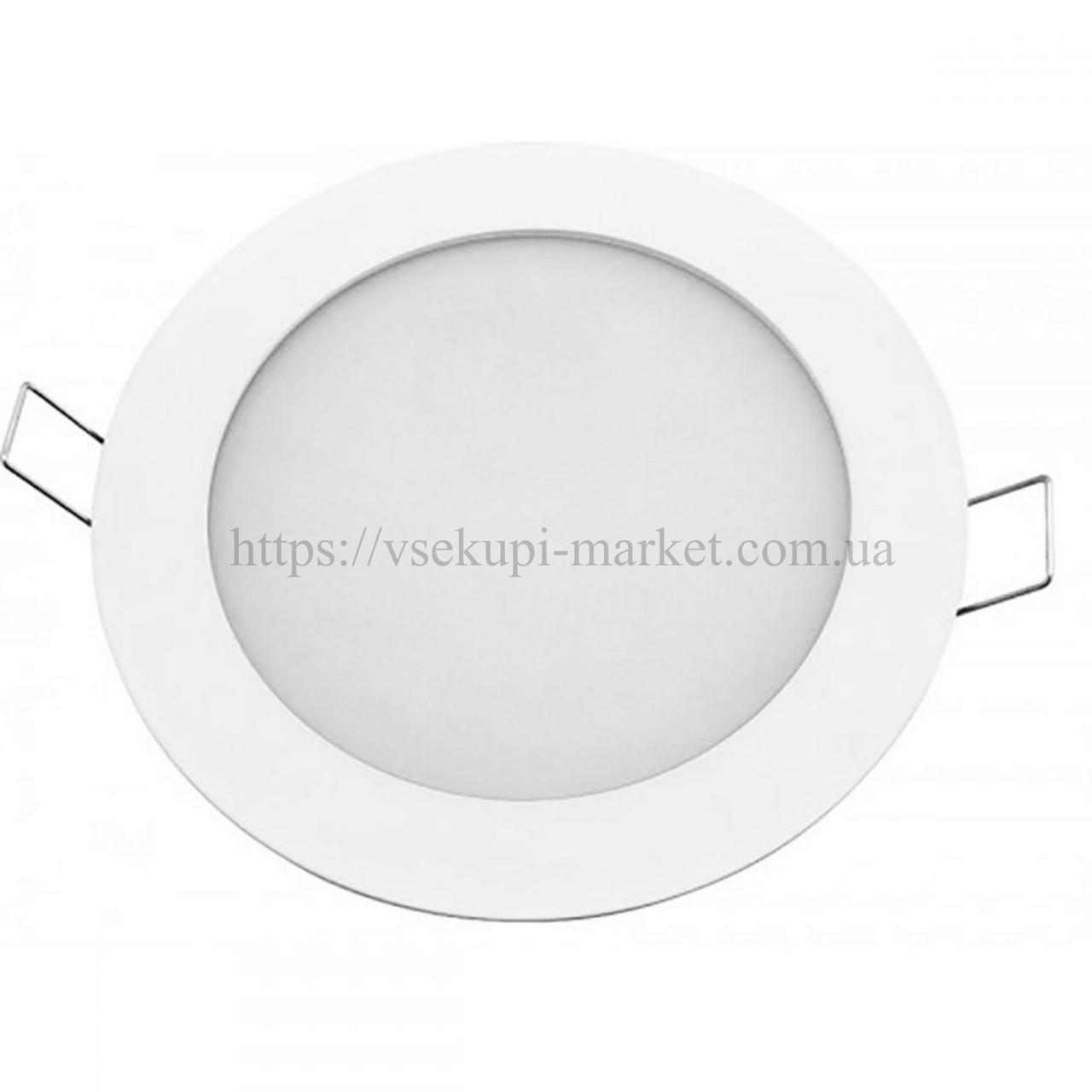 Светильник LED PANEL RIGHT HAUSEN круг SIMPLE 6W 4000K IP20 HN-238020