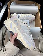 Кроссовки Adidas X Kanye West yeezy 700 v2 Analog White with grey Белые с серым