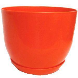 Горшок классик для растений Оранжевый 16 см