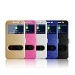 Чехол книжка c окошками для Samsung M20 (4 цвета)