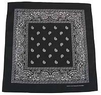 Бандана черно-белая 55 x 55 cm