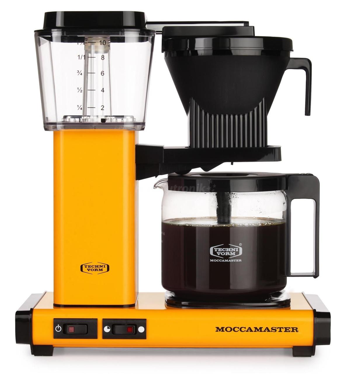 Moccamaster KBG 741 AO Yellow Pepper