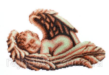 Повітруля Набор для вышивки крестом Спящий ангел Сплячий  янгол