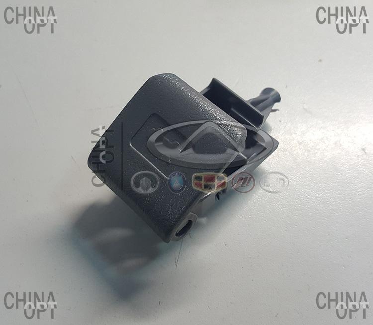 Ручка открытия капота, темно-серая, Geely MK2 [1.5, с 2010г.], 1018005919, Aftermarket