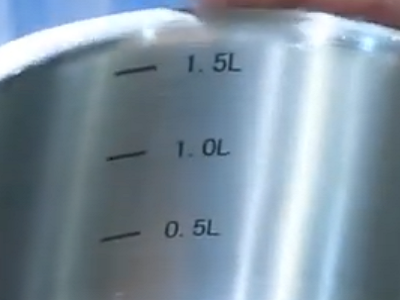 Мерная шкала набора посуды Vinzer Universum Compact 89040 (9 пр.)