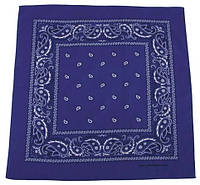 Бандана фиолетовая с белым 55 x 55 cm