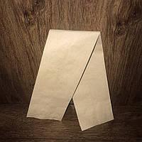 Бумажный пакет 550х100х40 бурый крафт 100шт/уп