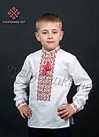Детская вышиванка на мальчика, арт. 0108