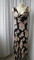 Платье женское р.48-50 летнее вискоза бренд De Ville, фото 1