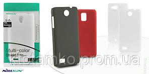 Чехол NILLKIN Multi-color Shield Case Fly IQ4412 Black