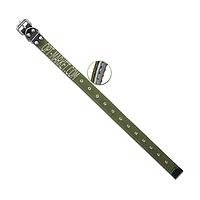 Ошейник 35 мм ХБ безразмерный
