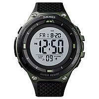 Skmei 1441 зеленые мужские спортивные часы, фото 1