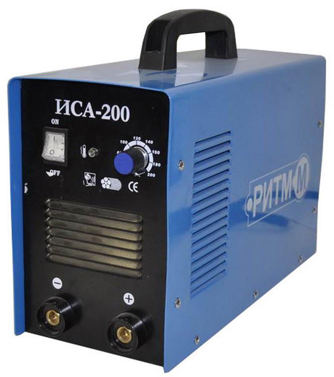 Інверторний зварювальний апарат Ритм-М ІСА 200. Зварювальний апарат Ритм М