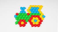 Детская мозаика-пазл ТехноК Коврик. В наборе 160 деталей