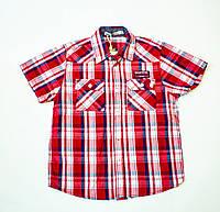 Стильная рубашка, шведка  для мальчика рост 116-122 cм, фото 1