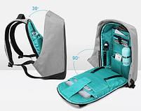 Рюкзак антивор повседневный для ноутбука 15,6 КАКА 2236 , фото 7