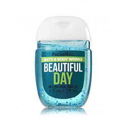 Bath&Body Works Anti-bacterial Hand Gel - Гель для рук антибактериальный - Beautiful Day, 29 мл