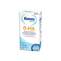 Смесь молочная жидкая Хумана  0-ГА 0-HA, 450мл, гипоалергенная