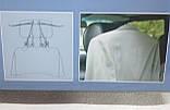 Тремпель вішалка для одягу автомобільна на підголовник Hebe (плечики), фото 3