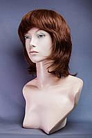Натуральный парик №11,Цвет молочный шоколад