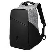 Рюкзак KAKA-808 Backpack Black (Черный), фото 5