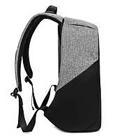 Рюкзак KAKA-808 Backpack Black (Черный), фото 4
