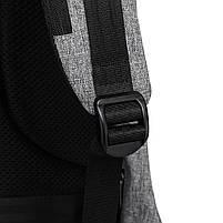 Рюкзак KAKA-808 Backpack Black (Черный), фото 9