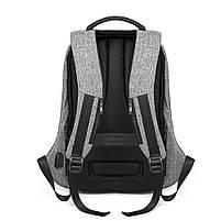 Рюкзак KAKA-808 Backpack Black (Черный), фото 6