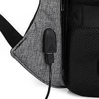 Рюкзак KAKA-808 Backpack Black (Черный), фото 8