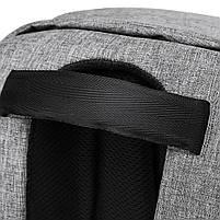 Рюкзак KAKA-808 Backpack Black (Черный), фото 10