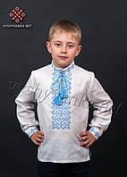 Детская вышиванка из натурального хлопка на мальчика, арт. 0109