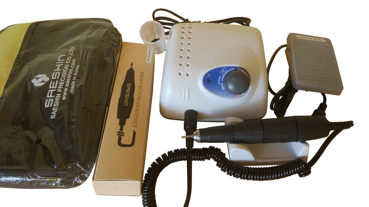 Фрезер STRONG 210 ручка 102L SAESHIN (Корея) с сумкой, фото 1