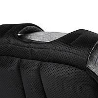 Рюкзак антивор для ноутбука 15,6 KAKA 2248 чёрно-серый, фото 5