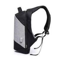 Рюкзак антивор для ноутбука 15,6 KAKA 2248 чёрно-серый, фото 2