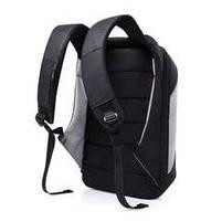 Рюкзак антивор для ноутбука 15,6 KAKA 2248 чёрно-серый, фото 4