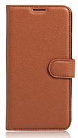 Чехол-книжка для Huawei Y6 II коричневый