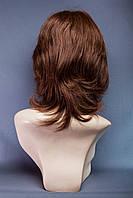 Натуральный парик №11, цвет молочный шоколад