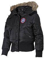 Детская куртка USA N2B, черная