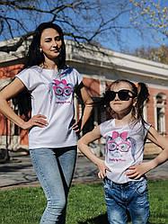 Детская футболка Прикольная собака 2218