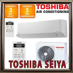 Кондиционер Toshiba  RAS-B13TKVG-UA / RAS-13TAVG-UA до 35 кв.м. инверторный (-15С) серия Toshiba Seiya