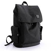 Рюкзак-торба молодёжный для города КАКА 2238 чёрный, фото 2