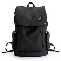 Рюкзак-торба молодёжный для города КАКА 2238 чёрный, фото 7