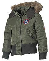 Детская куртка USA N2B, олива