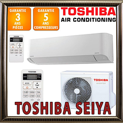 Кондиционер Toshiba  RAS-B16TKVG-UA / RAS-16TAVG-UA до 45 кв.м. инверторный (-15С) серия Toshiba Seiya