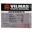 Бензокоса Vilmas 4300 GBC-2.1 Ніж 1 + 1 Шпуля з волосінню. Тример, фото 4