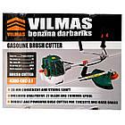 Бензокоса Vilmas 4300 GBC-2.1 Ніж 1 + 1 Шпуля з волосінню. Тример, фото 3